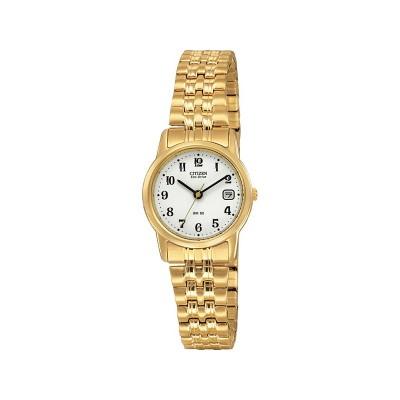 Citizen Ladies' Eco-Drive Gold Tone Expander Bracelet Watch